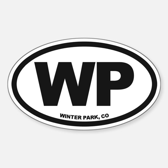 Winter Park Sticker (Oval)