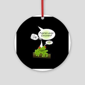 Sawyer's Frog Ornament (Round)