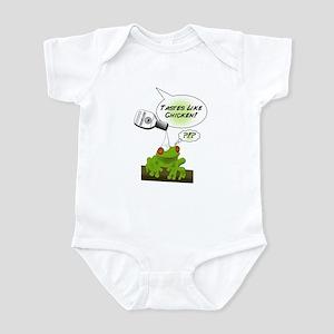 Sawyer's Frog Infant Bodysuit