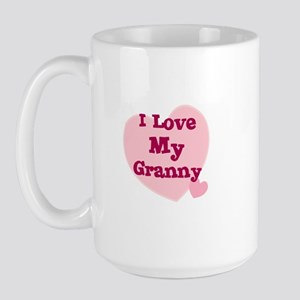 I Love My Granny Large Mug