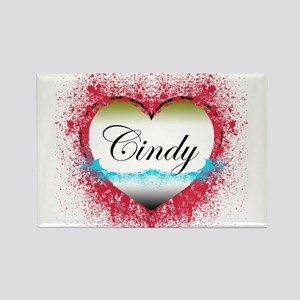 Cindy LOST Rectangle Magnet