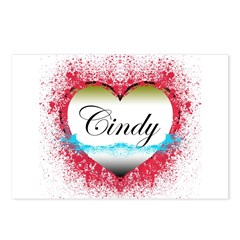 Cindy LOST Postcards (Package of 8)