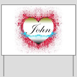 John Locke LOST Yard Sign
