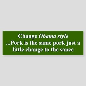 CHANGE OBAMA STYLE...