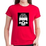 Climbing On My Mind Women's Dark T-Shirt