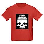 Climbing On My Mind Kids Dark T-Shirt