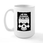 Climbing On My Mind Large Mug