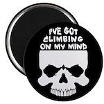 Climbing On My Mind Magnet