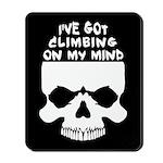 Climbing On My Mind Mousepad