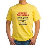 Modern Fantasies Yellow T-Shirt