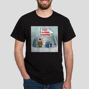 STOP GLOBAL FREEZING Dark T-Shirt
