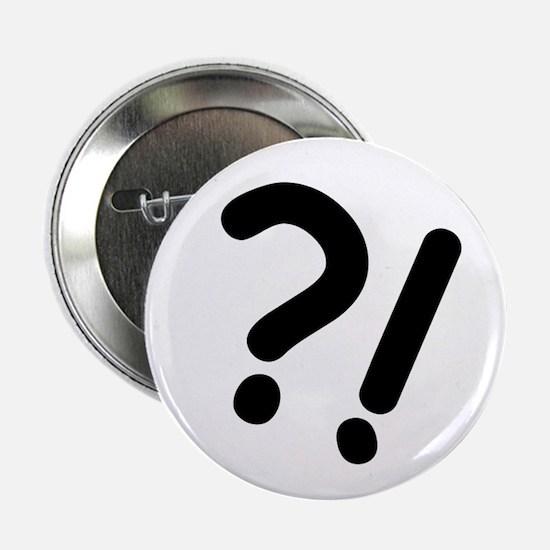 "Sometimes Button 2.25"" (White)"