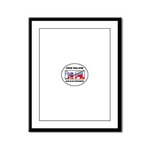 Fuck The CFR! Council on Fore Framed Panel Print