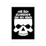 Climbing On My Mind Sticker (Rectangle)