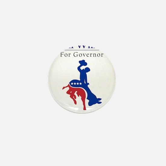 Funny Governor Mini Button