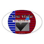 Tea Time Sticker (Oval)