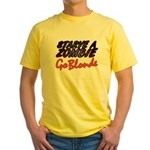 Starve a Zombie Yellow T-Shirt
