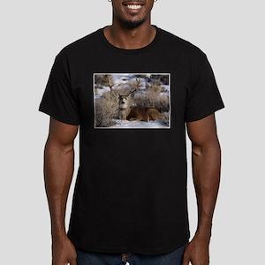 Morning Sun Men's Fitted T-Shirt (dark)
