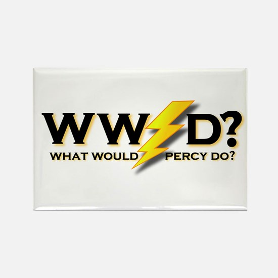 WW Percy D ? Rectangle Magnet