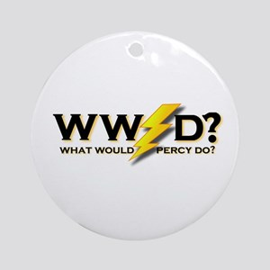 WW Percy D ? Ornament (Round)
