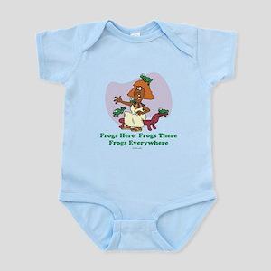 Frogs Kids Passover Infant Bodysuit