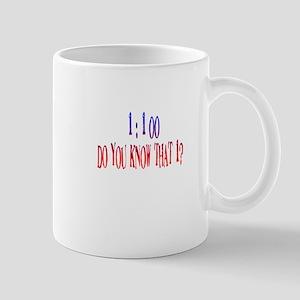 1 in 100 Mug