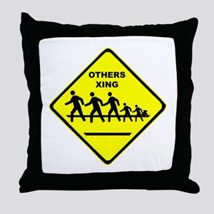 Others Xing Throw Pillow