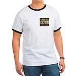Rubber Side Down Biker Ring T-Shirt
