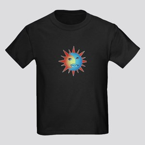 Planet Narcolepsy Logo Kids Dark T-Shirt