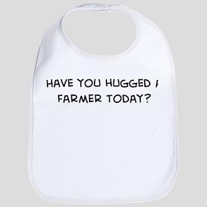 Hugged a Farmer Bib