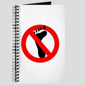 No Feet Allowed Journal