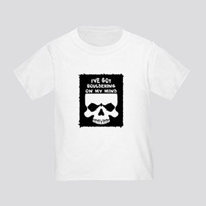 Bouldering On My Mind Toddler T-Shirt