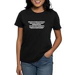 Ulysses S. Grant Quote Women's Dark T-Shirt