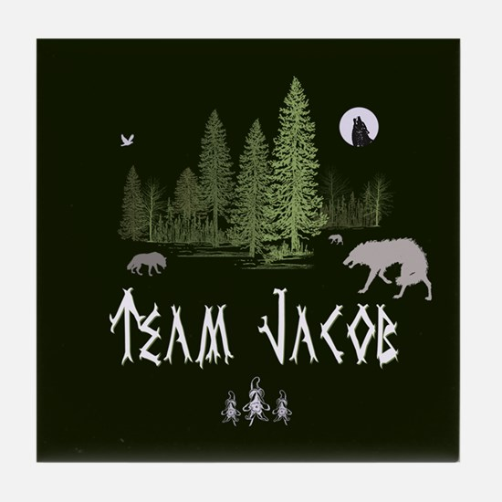 Team Jacob Tile Coaster
