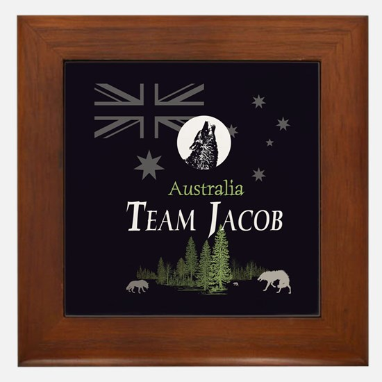 Team Jacob Australia AUS Framed Tile