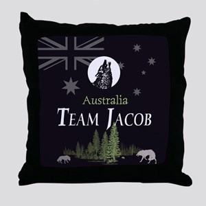Team Jacob Australia AUS Throw Pillow