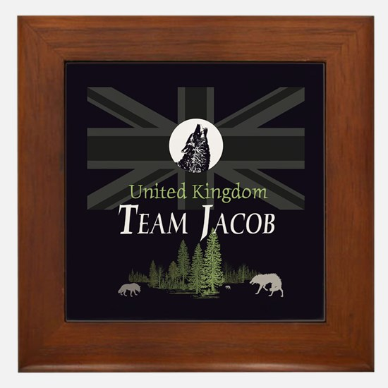 Team Jacob UK Framed Tile