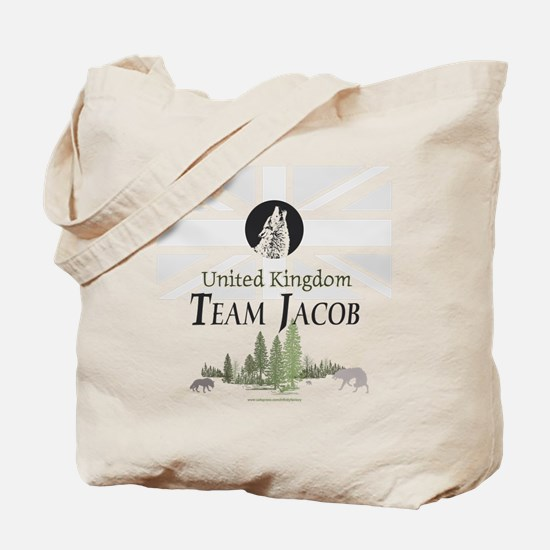 Team Jacob UK Tote Bag