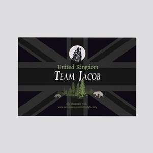 Team Jacob UK Rectangle Magnet