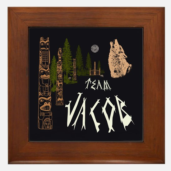 Team Jacob Native Framed Tile