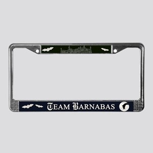 Team Barnabas B&W License Plate Frame