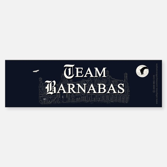 Team Barnabas B&W Sticker (Bumper)