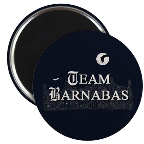 "Team Barnabas B&W 2.25"" Magnet (100 pack)"
