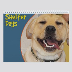 Shelter Dogs and Puppies Wall Calendar