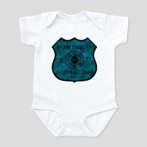 Team Sawyer - Dharma 1977 2 Infant Bodysuit