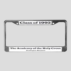 1993 Tartans License Plate Frame