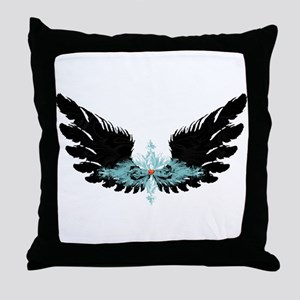 Michael's Wings Throw Pillow