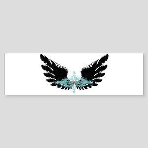 Michael's Wings Sticker (Bumper)