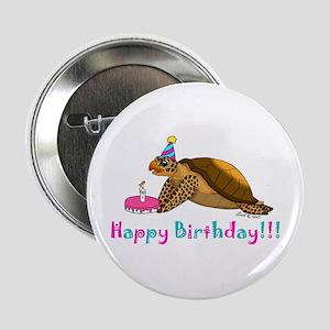 """Happy Birthday 2.25"""" Button"""