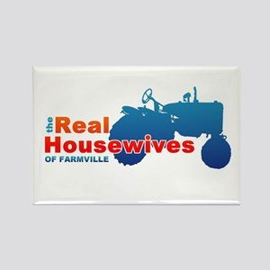 The Real Housewives of Farmville Rectangle Magnet